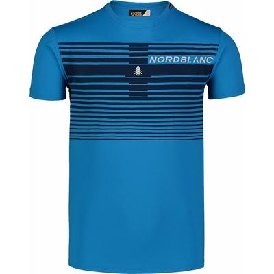 Pánske tričko Nordblanc Gradiant modré NBSMF7459_AZR, Nordblanc