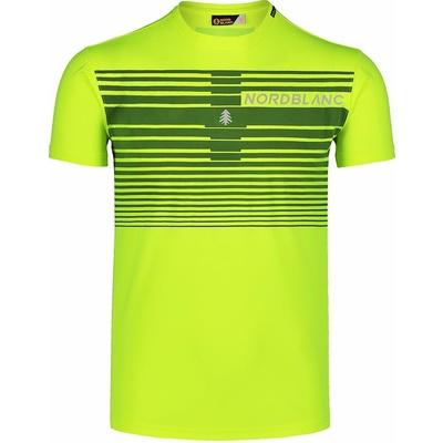 Pánske tričko Nordblanc Gradiant žlté NBSMF7459_BPZ, Nordblanc