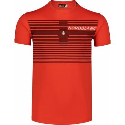 Pánske tričko Nordblanc Gradiant oranžové NBSMF7459_OIN, Nordblanc