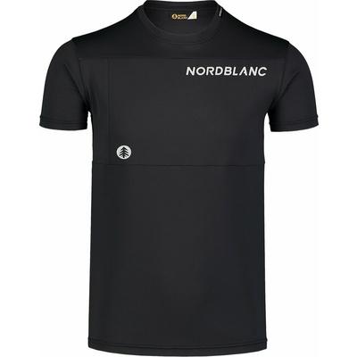 Pánske fitness tričko Nordblanc grow čierne NBSMF7460_CRN