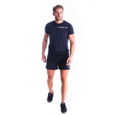 Pánske fitness tričko Nordblanc grow čierne NBSMF7460_CRN, Nordblanc