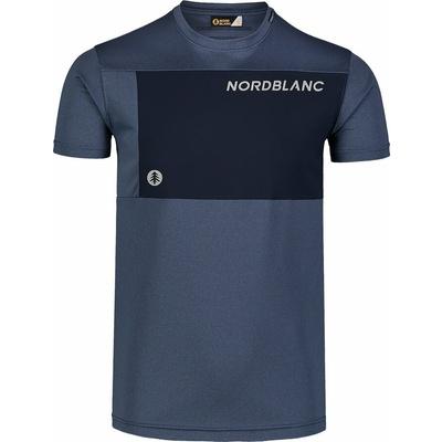 Pánske fitness tričko Nordblanc Grow modré NBSMF7460_SRM