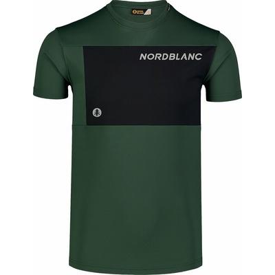 Pánske fitness tričko Nordblanc grow čierne NBSMF7460_TZE