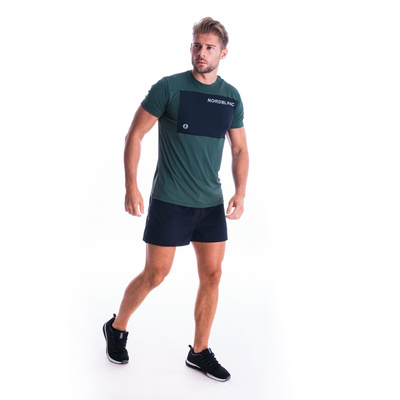 Pánske fitness tričko Nordblanc grow čierne NBSMF7460_TZE, Nordblanc