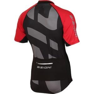 Cyklo dres Lasting MD74 čierno-červený, Lasting