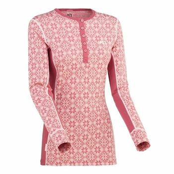 Tričko Kari Traa Rose LS 622692, ružová