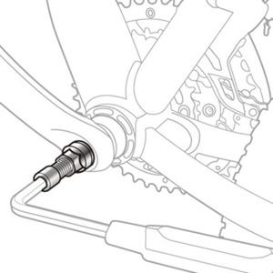 Sťahovák klik Topeak Universal Crank Puller TPS-SP19, Topeak