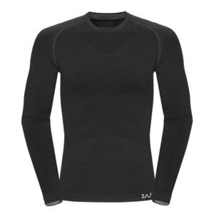 Tričko Zajo Contour M T-shirt LS Black