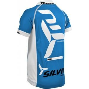 Detský cyklistický dres Silvini Team CD403 blue, Silvini