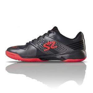 Topánky Salming Viper 5 Shoe Men Gunmetal / Red, Salming