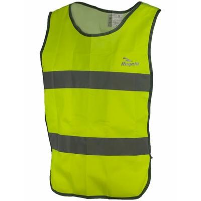 Bezpečnostná vesta s priedušnými chrbtom Rogelli MAPLETON, reflexná žltá 890.600, Rogelli
