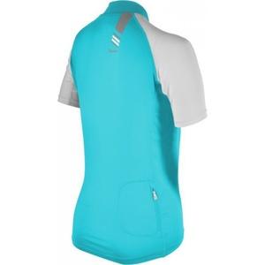 Dámsky cyklistický dres Silvini Cigno WD377L turquoise (rozšírená), Silvini