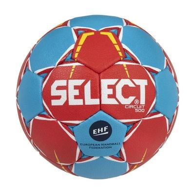 Lopta na hádzanú Select HB Circuit červeno-modrá, Select