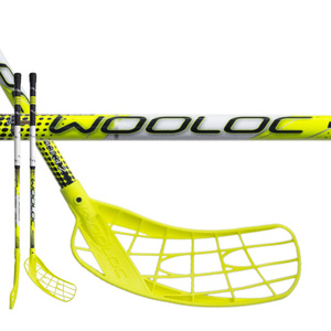 Florbalová palica WOOLOC FORCE 3.2 yellow 65 ROUND NB, Wooloc