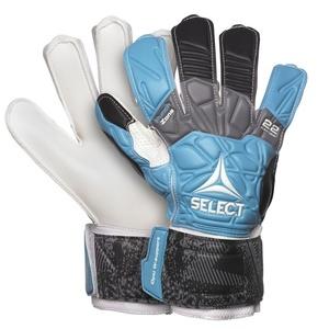 Brankárske rukavice Select GK gloves 22 Flexi Grip Flat cut modro čierna, Select
