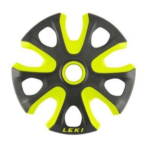 Tanierik LEKI Big Mountain Basket 2K 95mm black-neon yellow 853100112, Leki