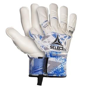 Brankárske rukavice Select GK gloves 88 Pro Grip Negative cut bielo modrá, Select