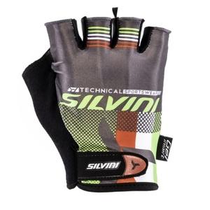 Pánske rukavice Silvini TEAM MA844 green, Silvini