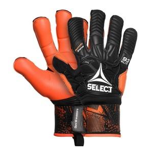 Brankárske rukavice Select GK gloves 93 Elite Hyla cut čierno oranžová, Select