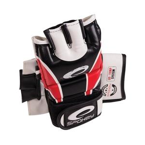 HIYO Kožené rukavice na MMA červené M-XL, Spokey