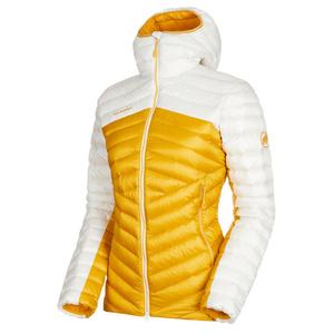 Dámska bunda Mammut Broad Peak IN Hooded Jacket Women golden bright white 1247, Mammut
