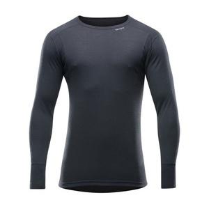 Pánske vlnené triko Devold Hiking Man Shirt black GO 245 220 A 950A