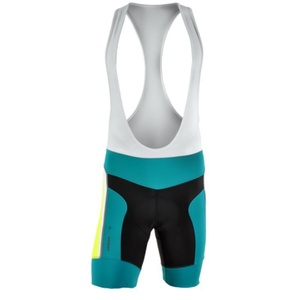 Pánske cyklistické nohavice Silvini MERRE MP605 ocean-neon