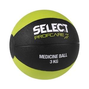 ťažký lopta Select Medicine ball 3kg čierno zelená, Select