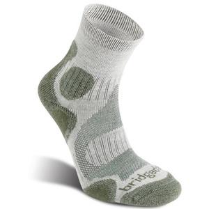 Ponožky Bridgedale CoolFusion Trail Diva wom 917 stone/sage, bridgedale
