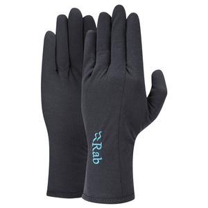 Rukavice Rab Forge 160 Glove Women's ebony / eb, Rab
