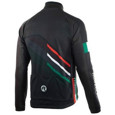 Membránová cyklistická bunda Rogelli TEAM 2.0, čierna 003.961, Rogelli
