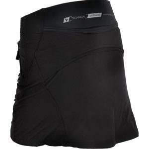 Dámska cyklistická sukňa Silvini INVIO WS859 black, Silvini