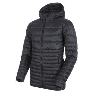 Pánska bunda Mammut Convey IN Hooded Jacket Men black phantom 00189, Mammut