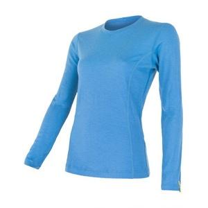 Dámske triko Sensor Merino Wool Active modrá 12110026