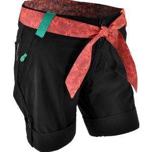Dámske voľné kraťasy Silvini Ciani WP806 black-punch, Silvini