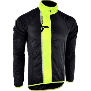 Pánska ultra light bunda Silvini GELA MJ801 black-neon, Silvini
