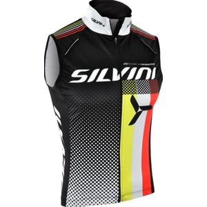 Pánska vesta Silvini TEAM MJ818 black, Silvini