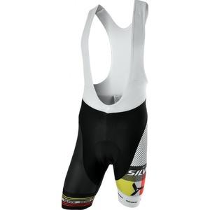 Pánske cyklistické nohavice Silvini TEAM TOP MP839 black, Silvini