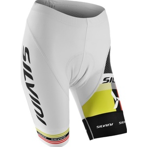 Dámske cyklistické nohavice pás Silvini TEAM WP840 white, Silvini