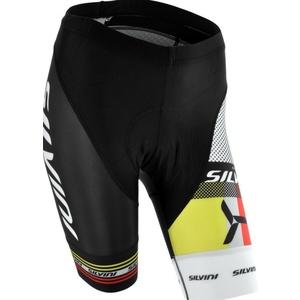 Dámske cyklistické nohavice pás Silvini TEAM WP840 black, Silvini