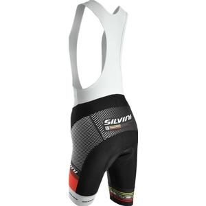 Dámske cyklistické nohavice lacl Silvini TEAM WP841 black, Silvini