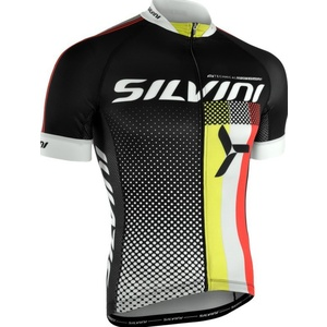Pánsky cyklistický dres Silvini TEAM MD836 black, Silvini