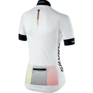 Dámsky cyklistický dres Silvini TEAM WD837 white, Silvini