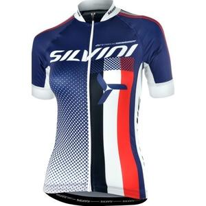 Dámsky cyklistický dres Silvini TEAM WD837 navy, Silvini