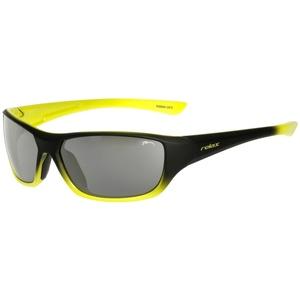 Detské slnečné okuliare RELAX Mona čierno žlté R3066A