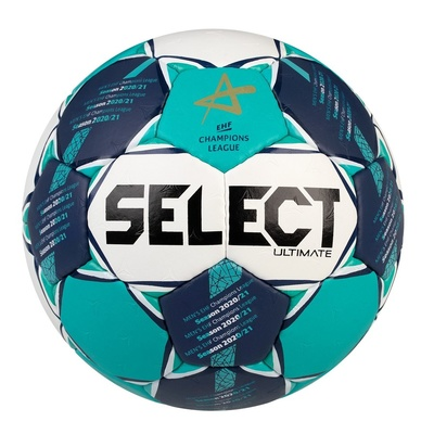 Hádzanárska lopta Select HB Ultimate CL Men bielo zelená, Select