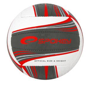 Volejbalový lopta Spokey GRAVEL II bielo-sivý, Spokey