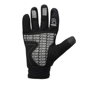Cyklistické rukavice Spokey ICON čierno-žlté, Spokey