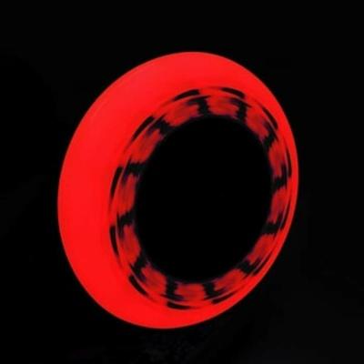 Sada kolies Tempish FLASHING 90x24 85A červená, Tempish