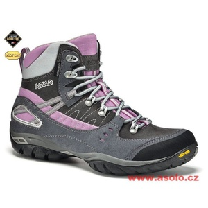 Dámske topánky Asolo Yuma GV A610 grey / graphite, Asolo
